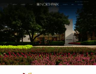 northparkcenter.com screenshot