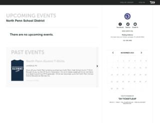 northpenn.ticketleap.com screenshot