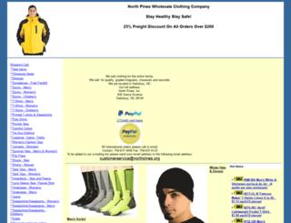 northpines.org screenshot
