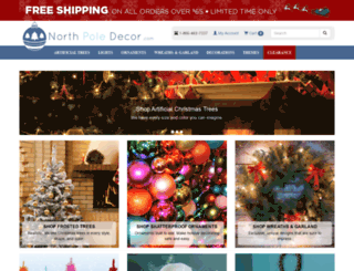 northpoledecor.com screenshot