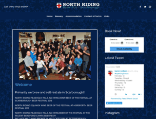 northridinghotel.co.uk screenshot