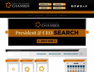 northsachamber.com screenshot