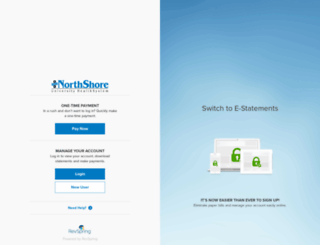northshore.mysecurebill.com screenshot
