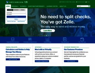 northshorebank.com screenshot