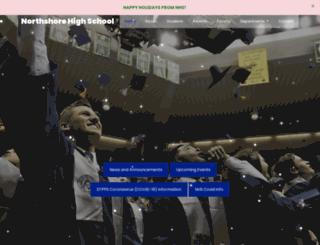 northshorehigh.stpsb.org screenshot