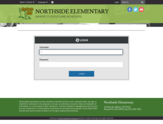 northsidees.desotoisd.org screenshot