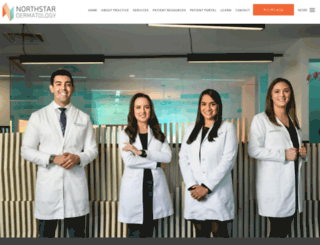 northstardermatology.com screenshot