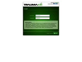 northstarems.traumasoft.com screenshot