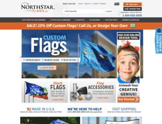 northstarflags.com screenshot