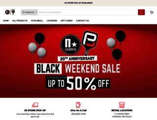 northstarlacrosse.com screenshot