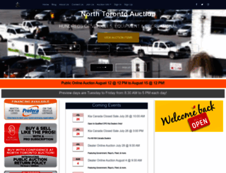 northtorontoauction.com screenshot