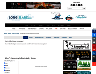 northvalleystream.longisland.com screenshot