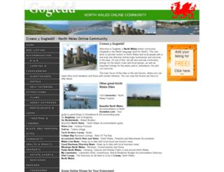 northwales.gogledd.com screenshot