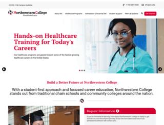northwesterncollege.edu screenshot