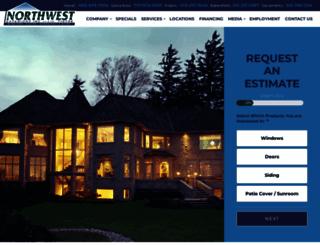 northwestexteriors.com screenshot