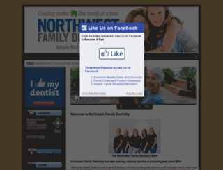 northwestfamilydentistry.net screenshot
