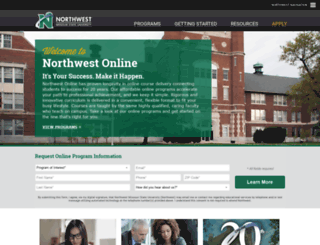 northwestonline.org screenshot