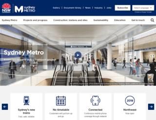 northwestrail.com.au screenshot