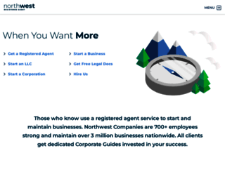 northwestregisteredagent.com screenshot