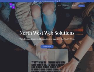 northwestwebsolutions.co.uk screenshot