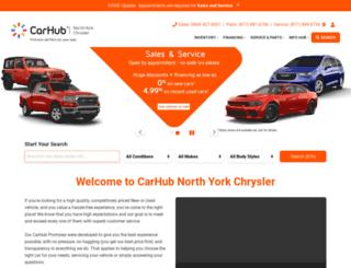 northyorkchrysler.ca screenshot