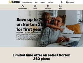 norton360.com screenshot