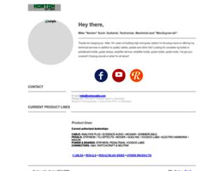 nortoncable.com screenshot