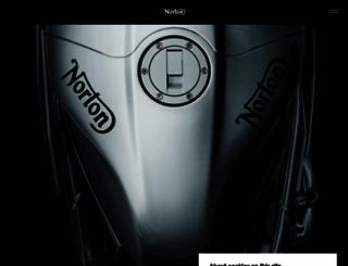 nortonmotorcycles.com screenshot