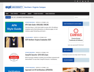 norv.ecpi.net screenshot