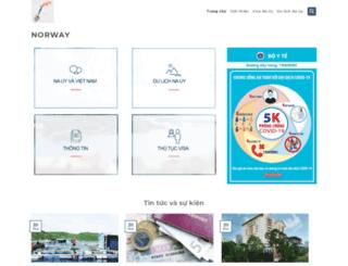 norway.org.vn screenshot