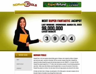 norwaypools.com screenshot