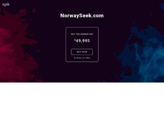 norwayseek.com screenshot