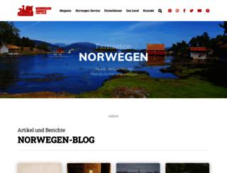 norwegenservice.net screenshot