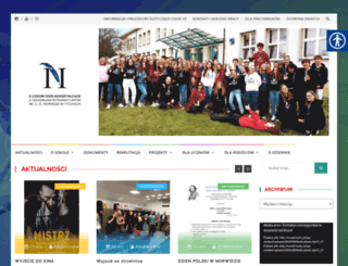norwid.tychy.pl screenshot