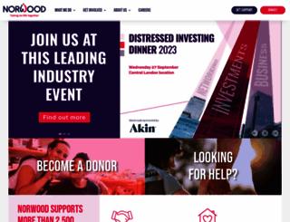norwood.org.uk screenshot