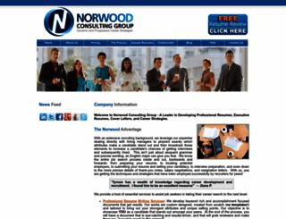 norwoodconsulting.org screenshot
