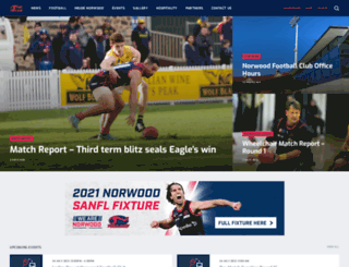 norwoodfc.com.au screenshot