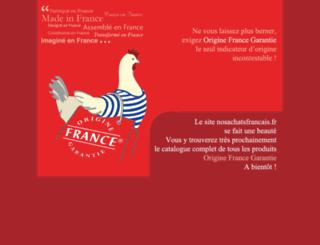nosachatsfrancais.fr screenshot