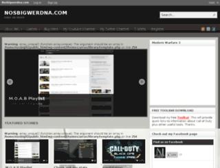 nosbigwerdna.com screenshot