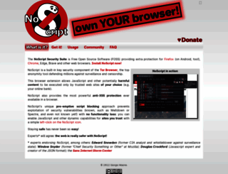 noscript.net screenshot