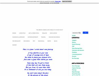 nose-piercings.com screenshot