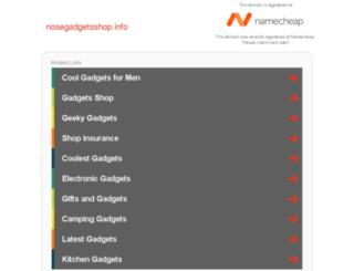 nosegadgetsshop.info screenshot
