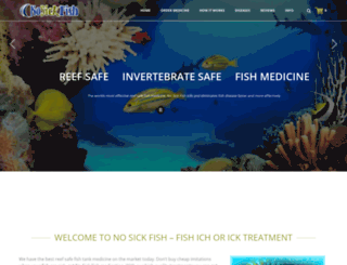 nosickfish.com screenshot