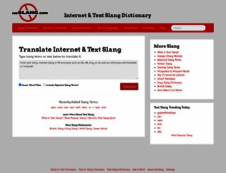 noslang.com screenshot