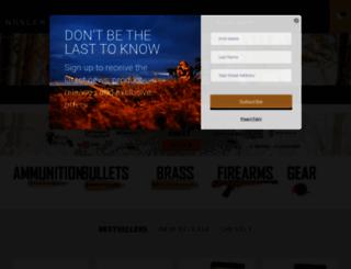 nosler.com screenshot