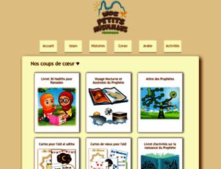 nospetitsmusulmans.com screenshot
