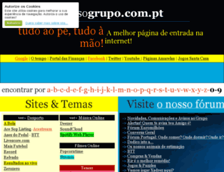 nossogrupo.com.pt screenshot