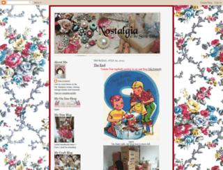 nostalgiaatthestonehouse.blogspot.com screenshot