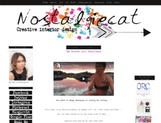 nostalgiecat.blogspot.com screenshot