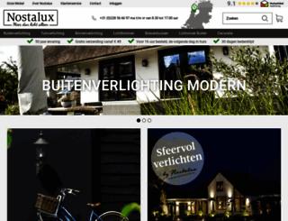 nostalux.nl screenshot